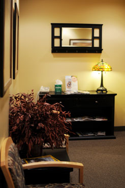 UtahEndo office waiting room